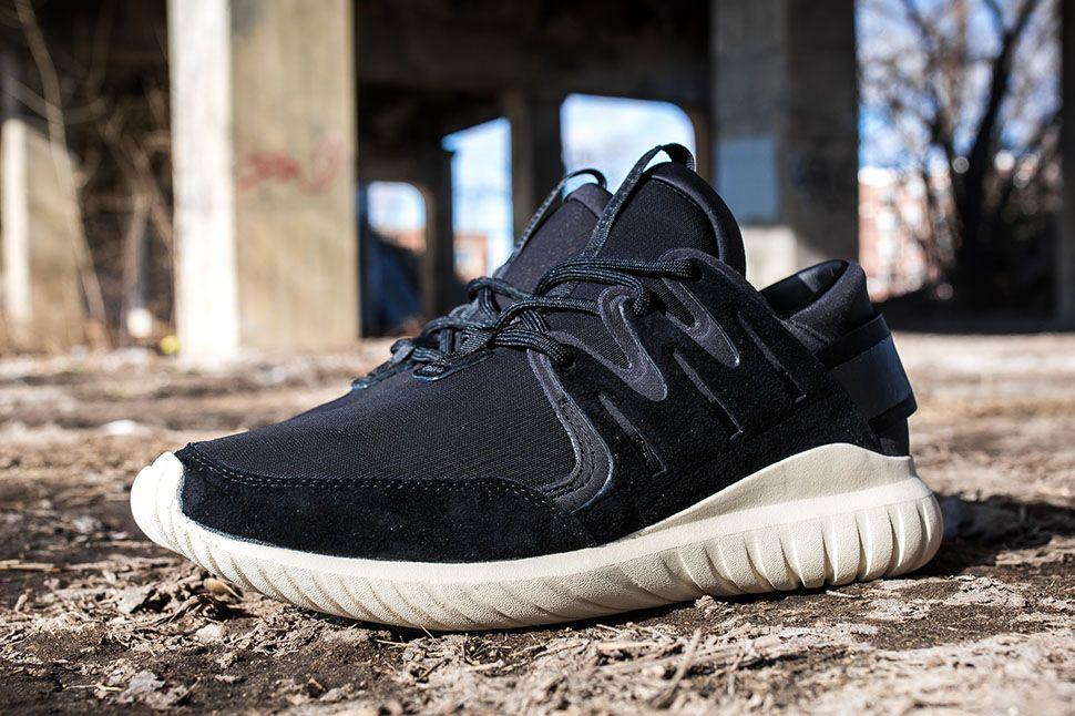 Cheap adidas Originals for Men Tubular Nova Snake Core Black/White Running Shoes 2387512