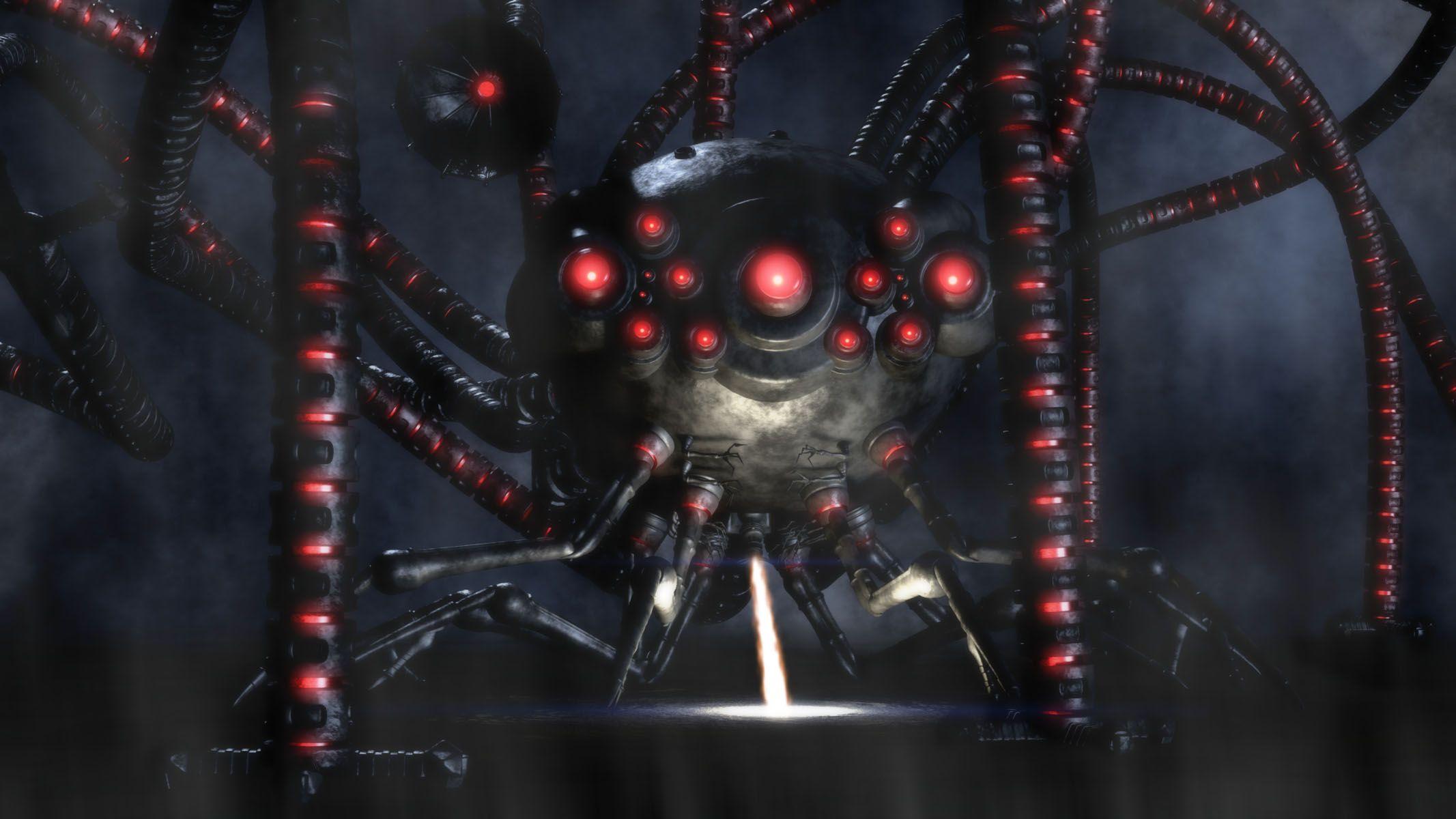 matrix-sentinel-squid-robot-octopus6 - Monsters Vault