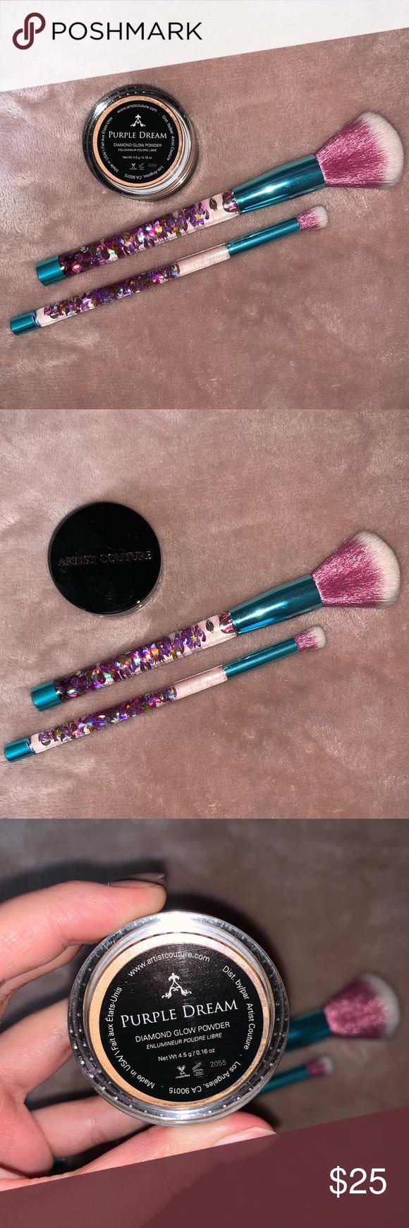 Artist Couture Diamond Glow Powder Purple Dream NWT in