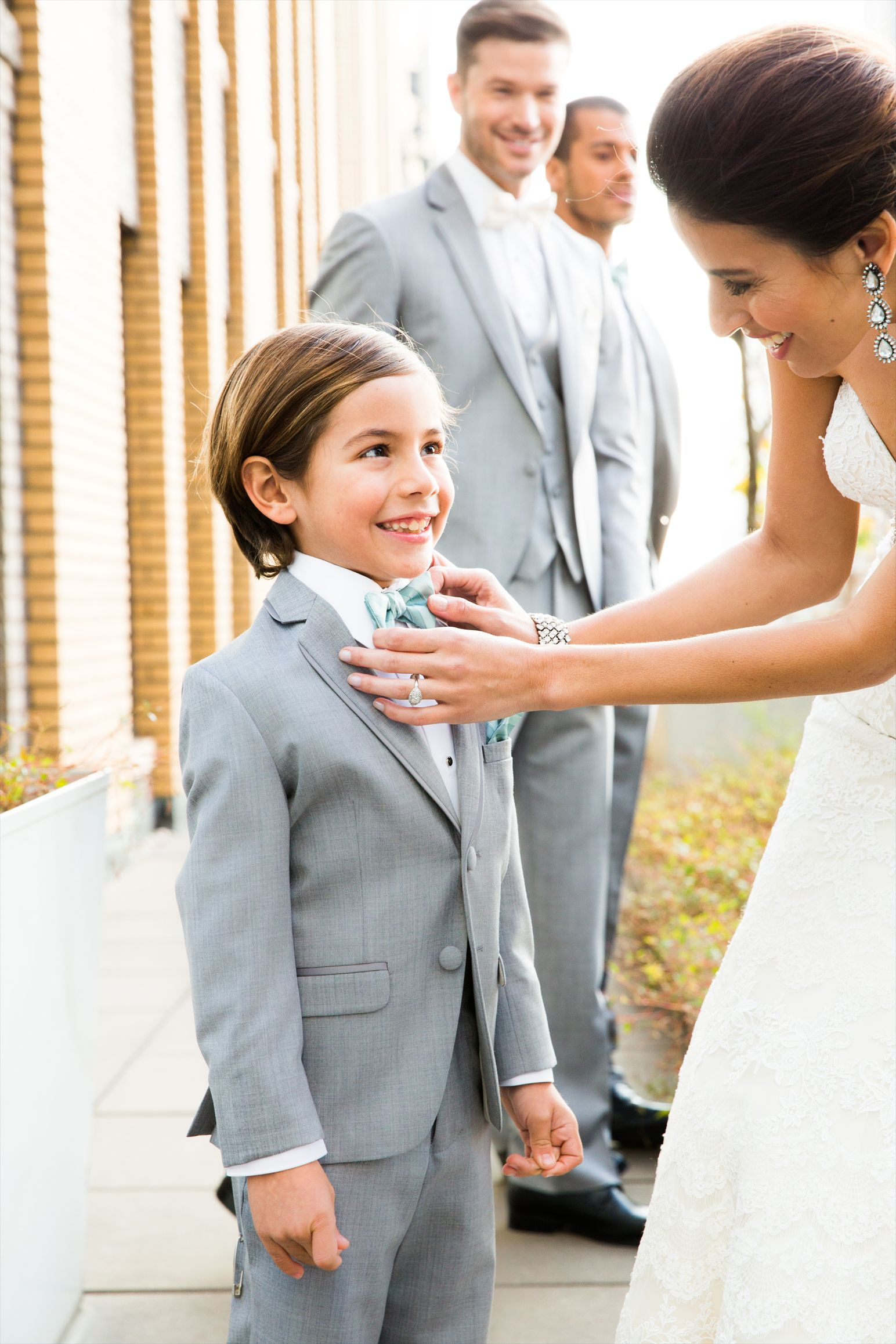 Suits and ties for the little guys. Xebo #wedding #ringbearer ...
