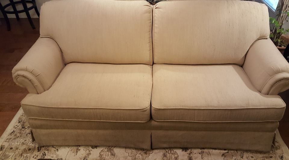 Quick And Easy Way To Update Craigslist Sofa Couches Living Room
