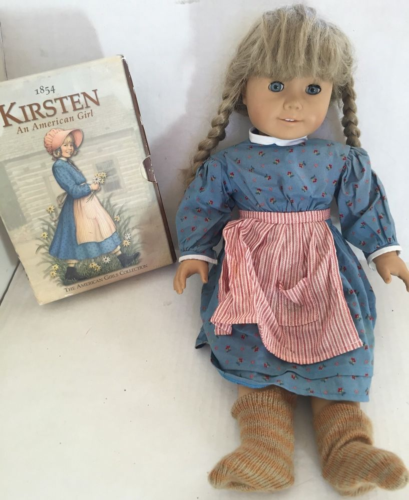Vintage American Girl Doll Kirsten 6 Book Set Pleasant Company   eBay