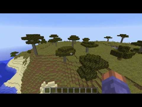 Minecraft Seed 1 8 2 Cool Snow, cold taiga biome - YouTube