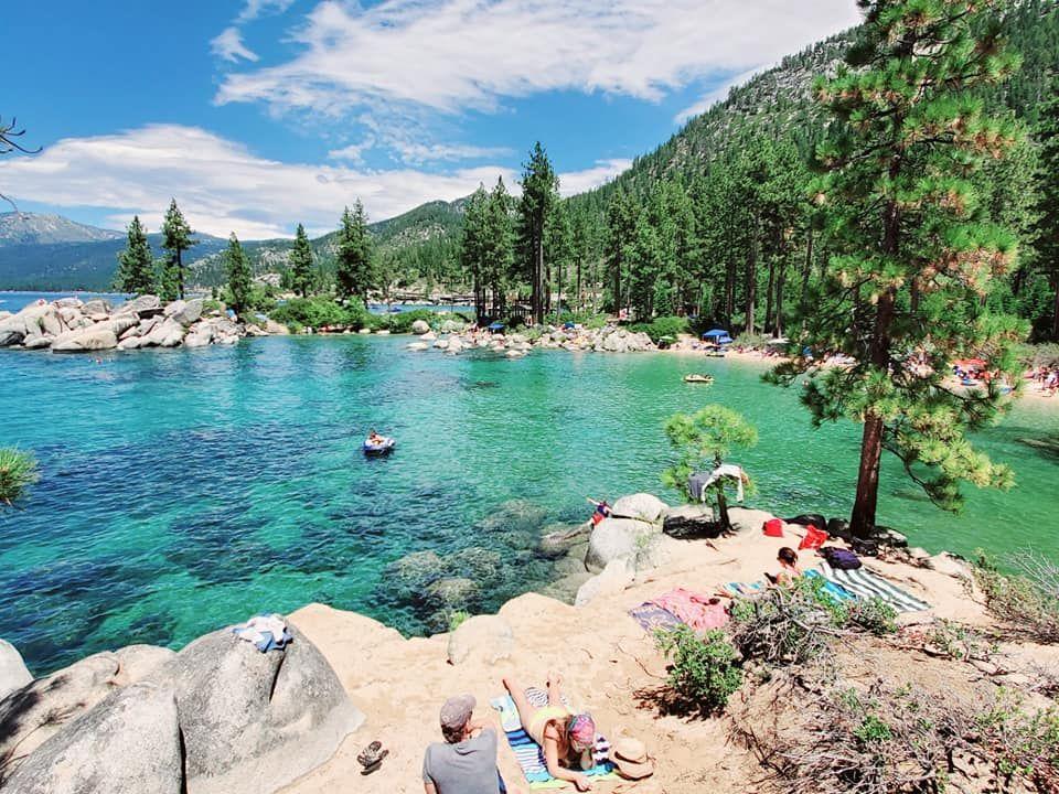 Secret Cove nude beach at Lake Tahoe, Nevada 1 - YouTube