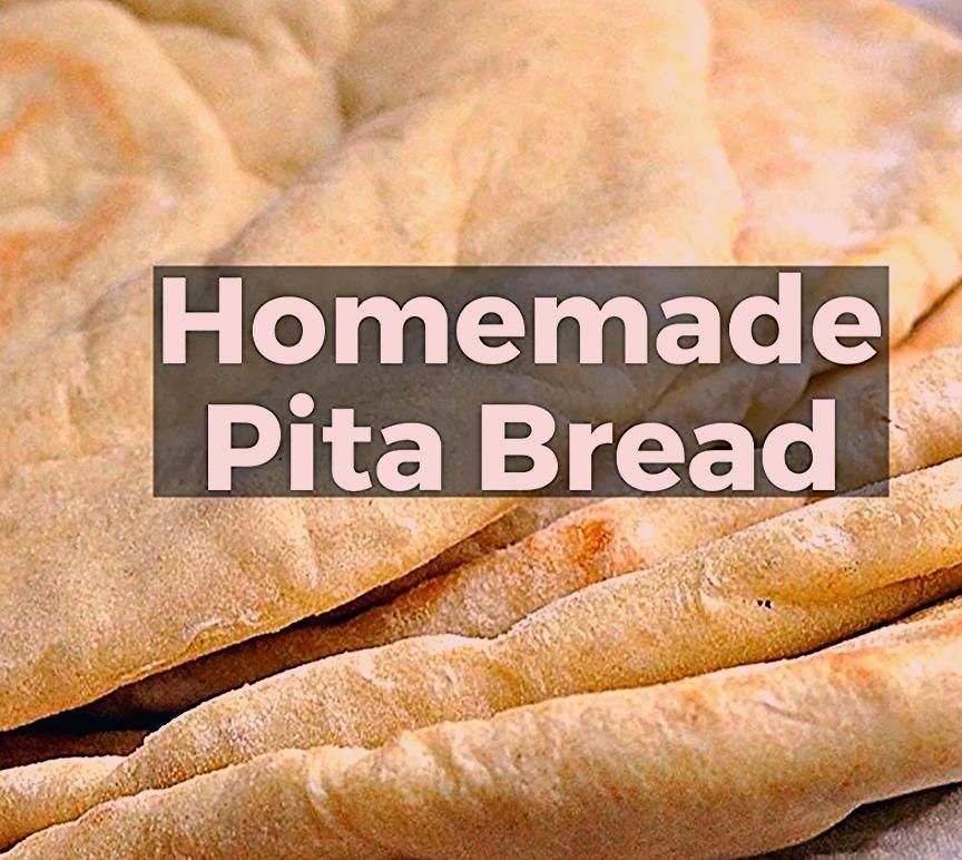 If You Ve Wondered How To Make Homemade Pita Bread This Is It Follow This Easy Pita Bread Recipe And Y In 2020 Homemade Baked Bread Homemade Pita Bread Bread Recipes