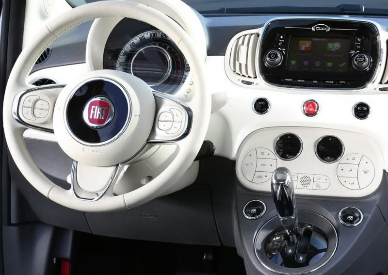 2016 fiat 500 interior cars all about new models. Black Bedroom Furniture Sets. Home Design Ideas