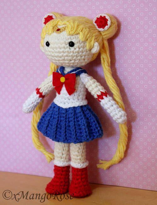 Sailor Moon Amigurumi Doll - CROCHET | Amigurumi | Pinterest ...