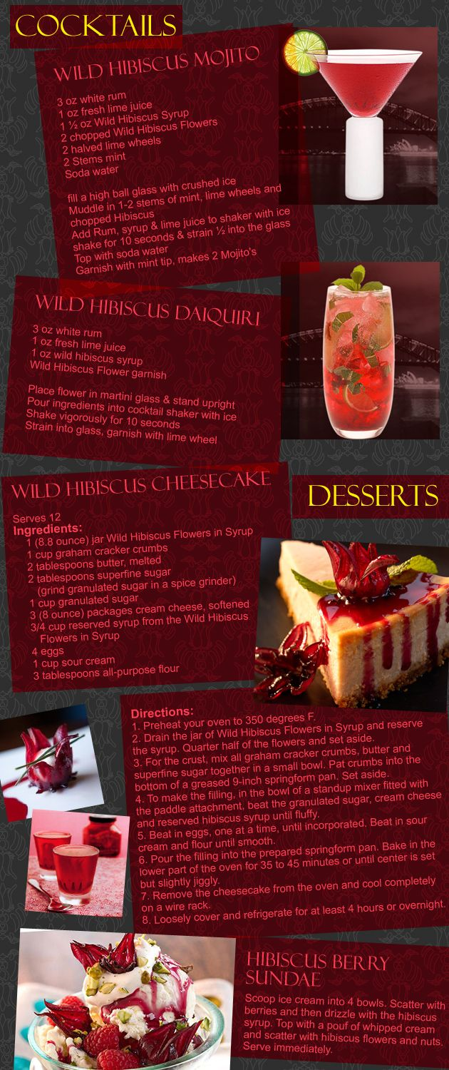 Wild Hibiscus Flowers In Syrup At Cg Esthetics You Can Also Use