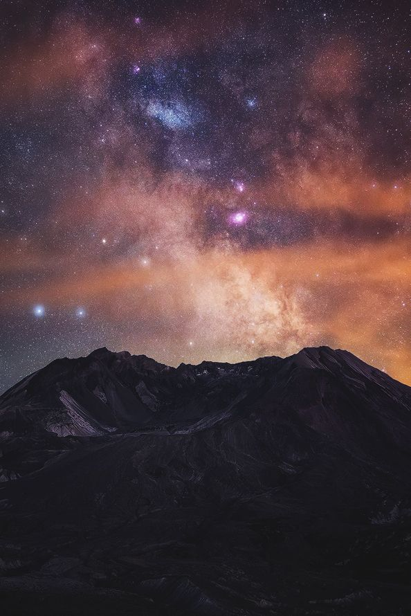 captvinvanity:  Michael Shainblum | Milky Way shines vividly