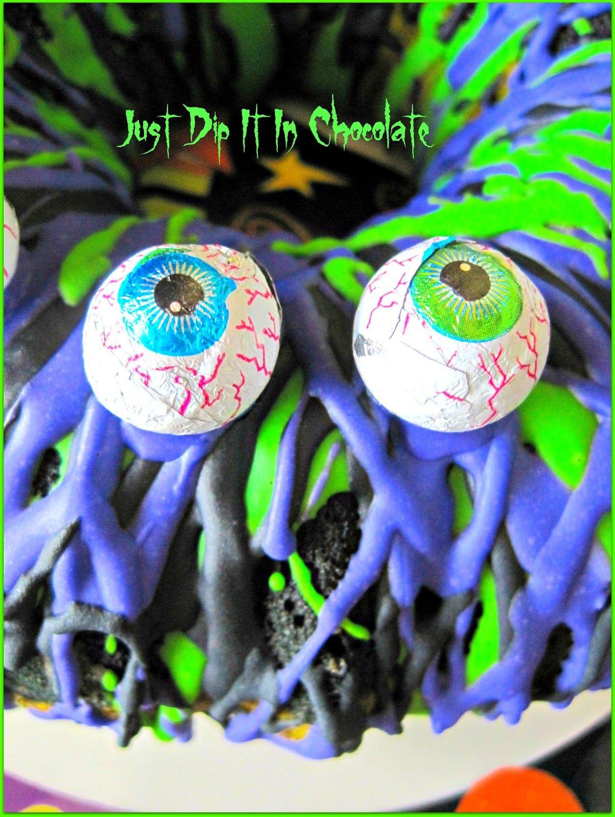 eye of newt halloween bundt cake | halloween | pinterest | halloween