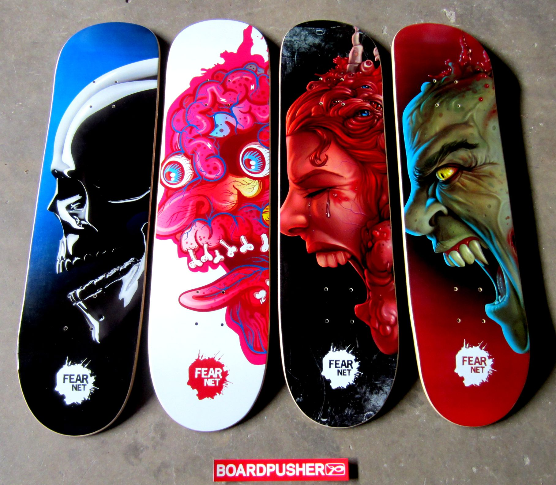 Horror Inspired Skateboard Graphics Have Been Around