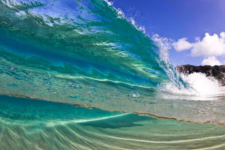 Colorful Surf Waves Free Desktop Backgrounds Bathrooms