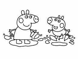 Image Result For Peppa Pig George Coloring Pages Peppa Pig Coloring Pages Peppa Pig Colouring Cartoon Coloring Pages