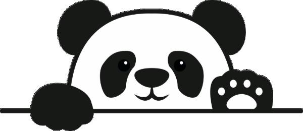 Cute Panda Bear Animal Personalized Custom Text Face Shield Zazzle Com Bear Stuffed Animal Cute Panda Panda Bear