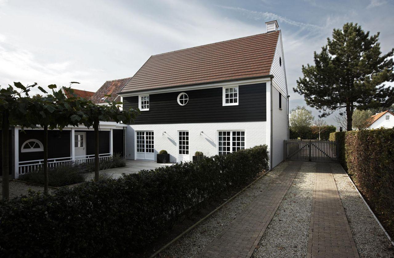 Realization mi casa in knokke belgium home buitengevel pinterest le charmes belge et charme for Casa home belgique