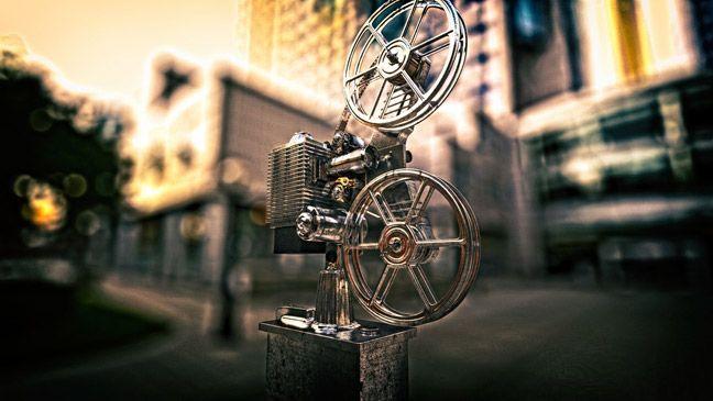 Free-C4D-Model-Film-Projector-Vintage   Projetos para experimentar ...