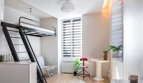 am nagement studio astuces gain de place et id es d co studio pinterest. Black Bedroom Furniture Sets. Home Design Ideas