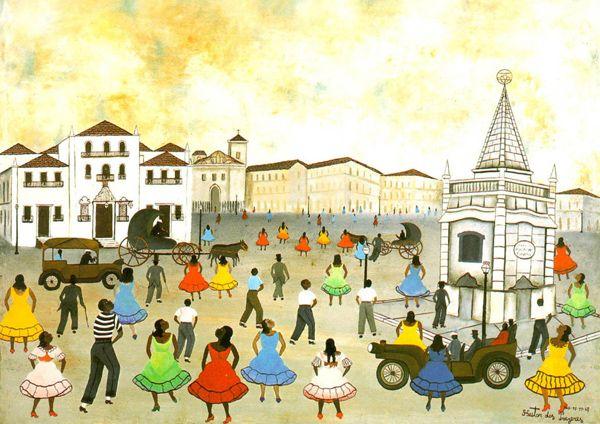 Praca Xv Heitor Dos Prazeres 1898 1966 Praca Xv Rio De