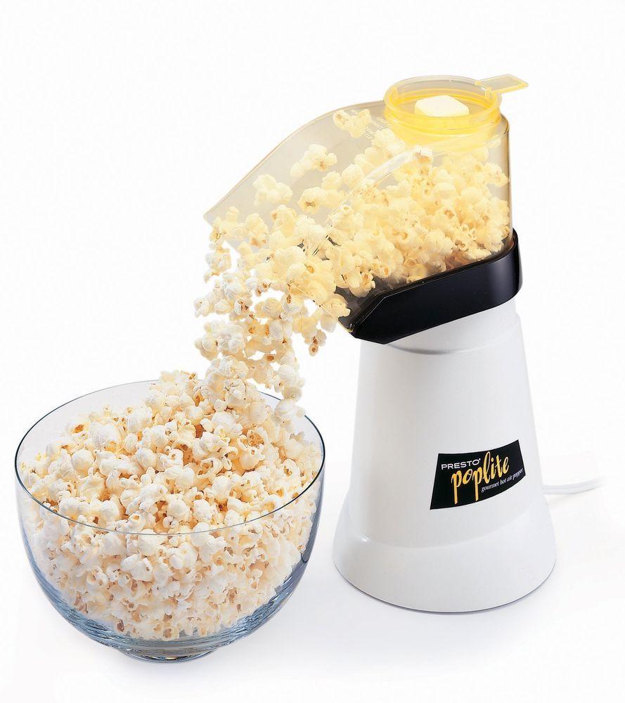 Presto Poplite Hot Air Corn Popcorn Maker Model 04820