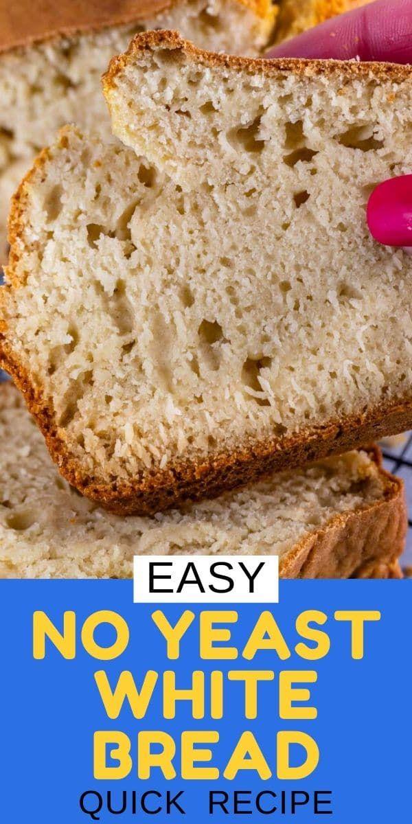 No Yeast Bread Recipe - Crazy for Crust | Recipe in 2020 ...