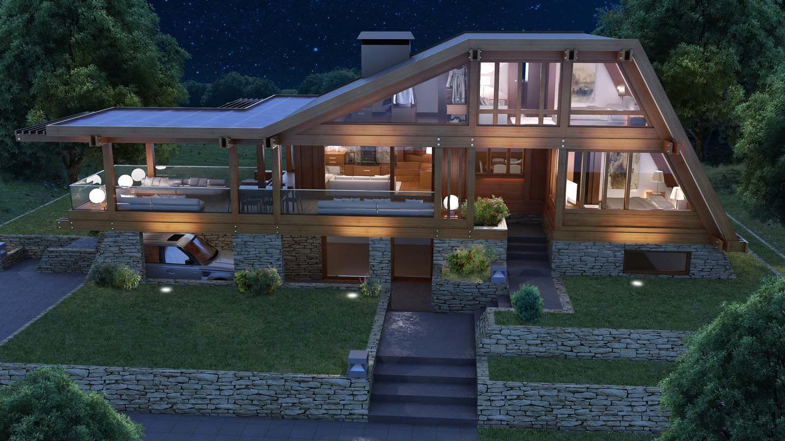 collezione case in legno pagano case di legno case