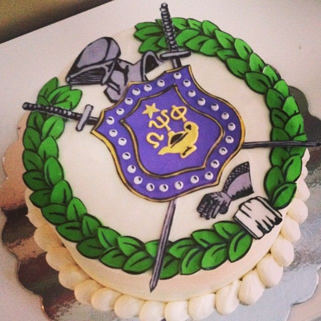 Omega Psi Phi Cake G If Got This For My Birthday I Would Put On