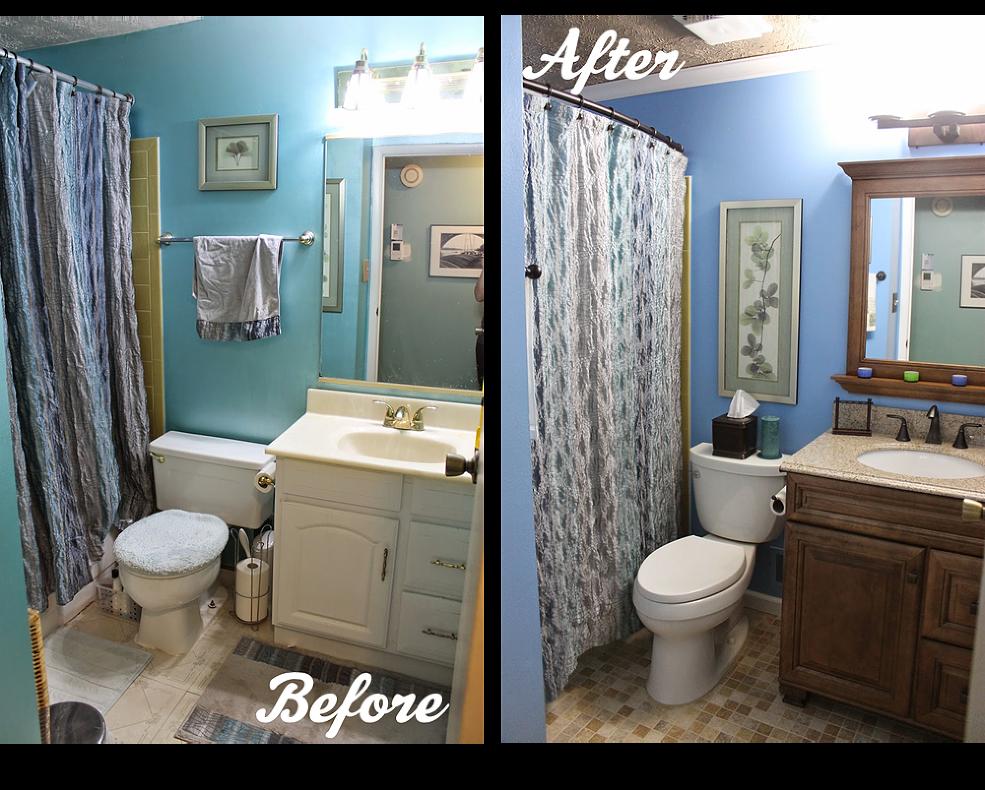 Etonnant DIY Small Bathroom Renovation