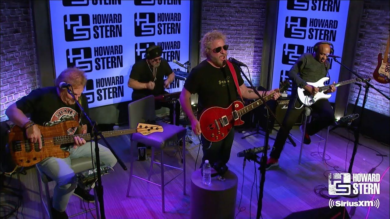 Sammy Hagar The Circle Finish What Ya Started On The Howard Stern Show The Band S Visit Howard Stern Show Howard Stern