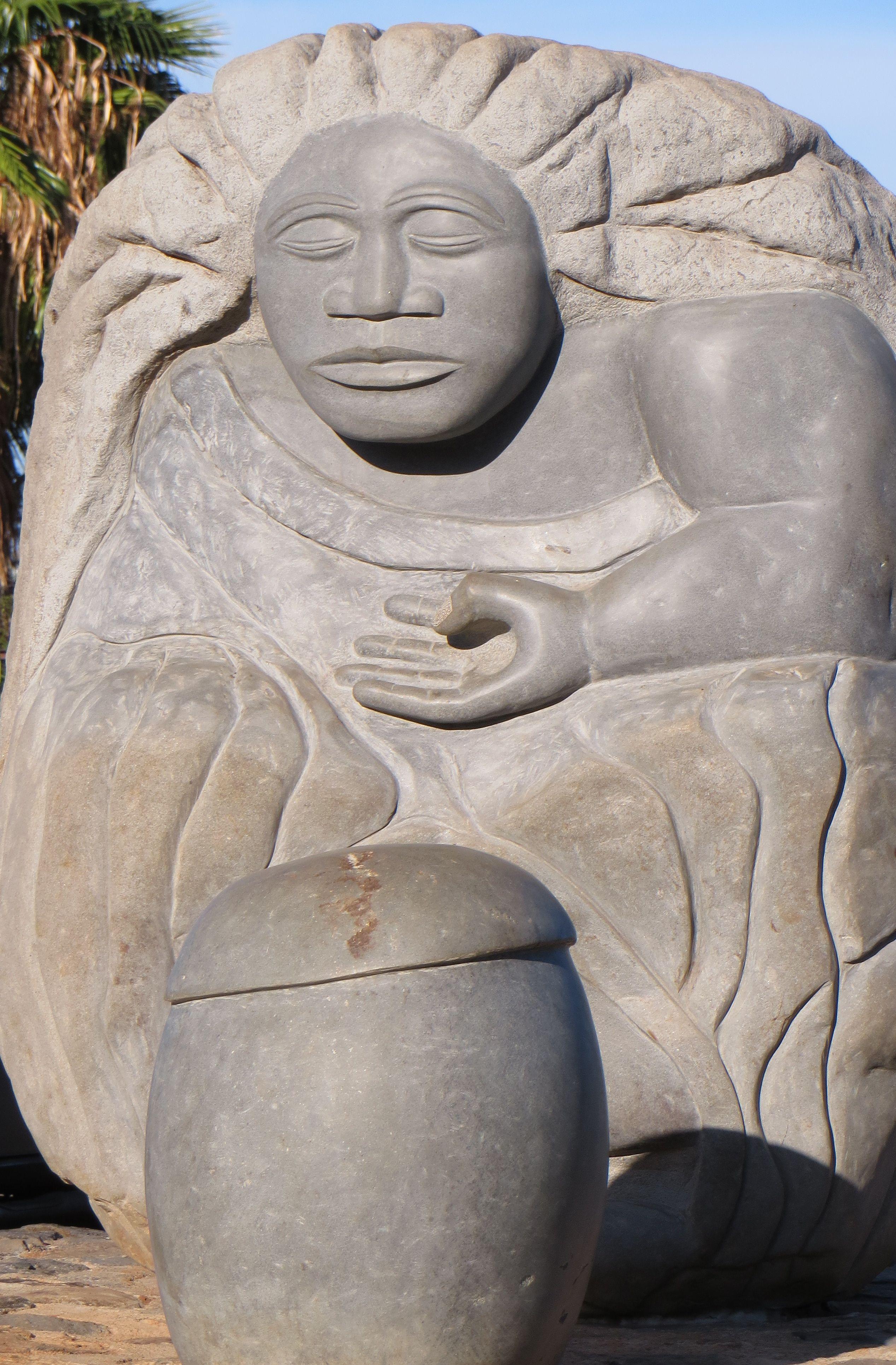Pu Ino Kolu O Hina Three Winds Of Hina In Molokai Kunst