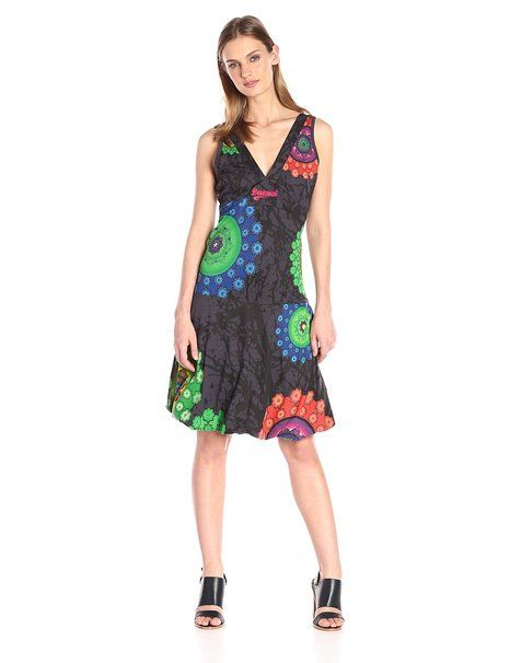 spätester Verkauf populäres Design beispiellos Desigual Women's Ginngery Sleeveless Dress: Amazon.co.uk ...