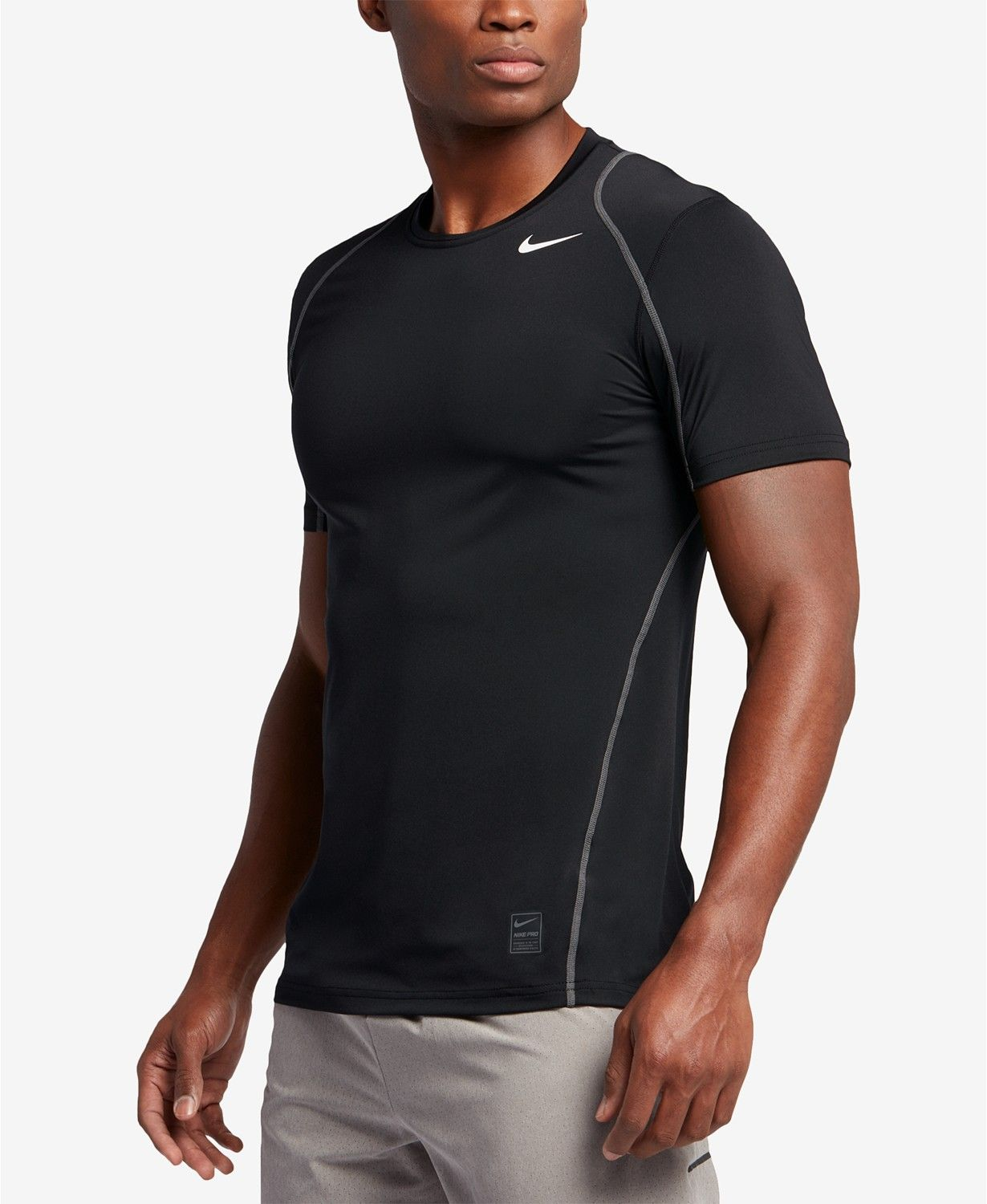9a86a197 Nike Men's Pro Cool Fitted Dri-FIT Shirt | macys.com | Active wear ...