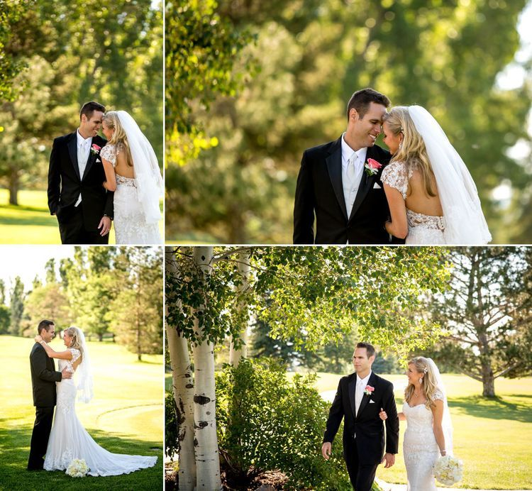 Stephanie anderson and marc lubick were married on june 26 for Wedding dresses grand junction co