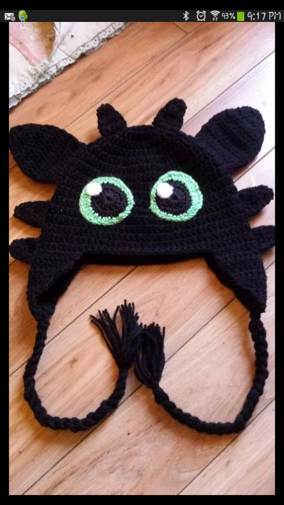 Crochet how to train your Dragon hat by Bebeoogiecrafts on Etsy ...