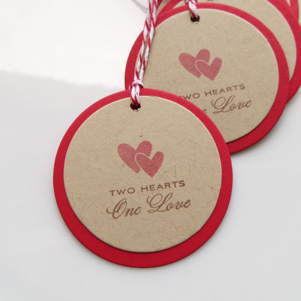 Heart Love Tags Two Hearts One Love | aaaacardstags | Pinterest ...