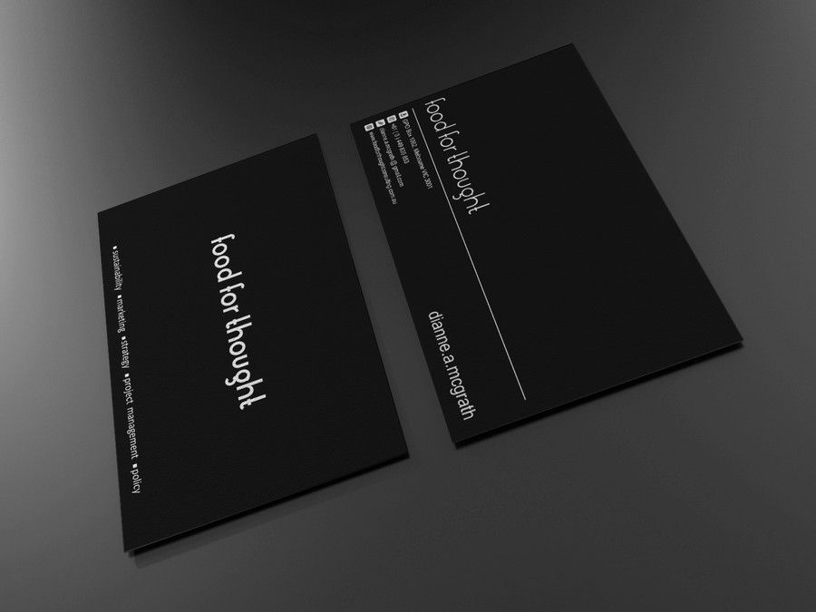freelance Eye catching business card design for a sustainability ...