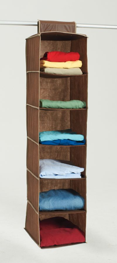 Make Space In Your Closet For Shirts And Sweaters With This Hanging #storage  Bag.