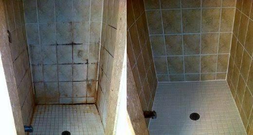 Apprenez utiliser cette astuce pour nettoyer votre salle - Comment nettoyer moisissure joint salle de bain ...