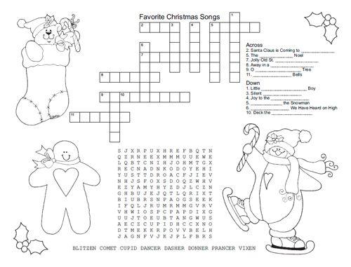 101 Days of Christmas: Printable Christmas Placemats