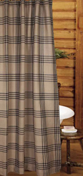 Chesterfield Check Black Shower Curtain Of Oat And Black Plaid Visit Website For Free S H Black Shower Curtains Rustic Shower Curtains Country Shower Curtain