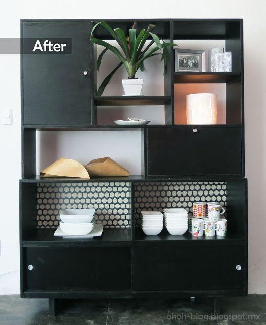 Ohoh Blog - diy and crafts: Furniture makeover / Renovación de un mueble