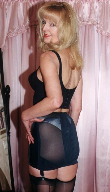 Sexy mature women in girdles