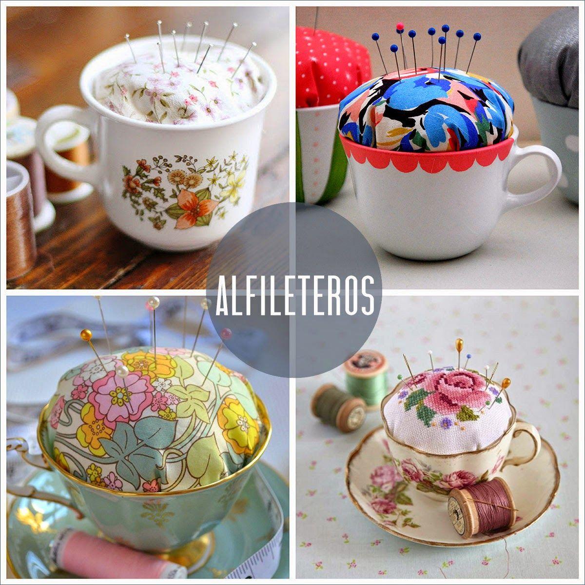 Darle una segunda vida a las tazas de porcelana con ideas for Tazas de porcelana