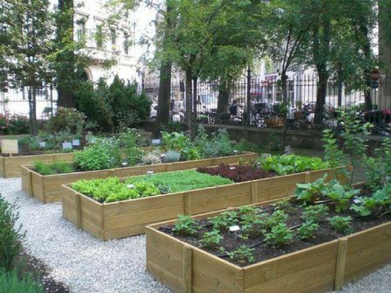 Potagers sur lev s pourquoi comment les construire - Jardin potager en hauteur ...