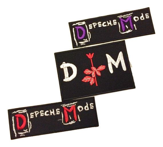Depeche Mode Patches New Wave 80s Band Rock/ Alternative
