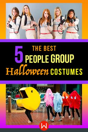 Group Halloween Costumes For 5 People.Pin On Costumes