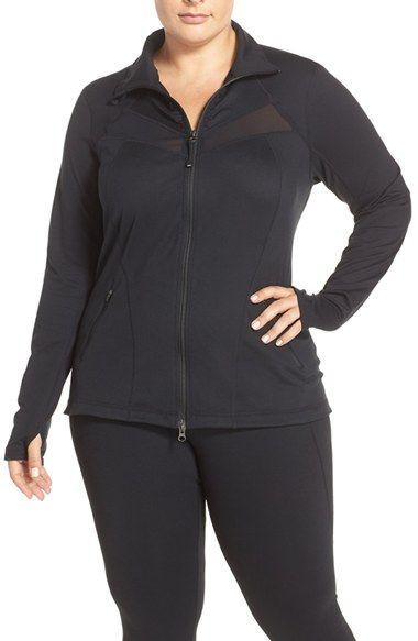 zella 'enamor' jacket (plus size) | active wear | pinterest