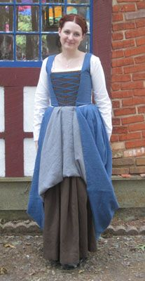 Historically Dressed - Costumes - Kirtle, Smock, Dress