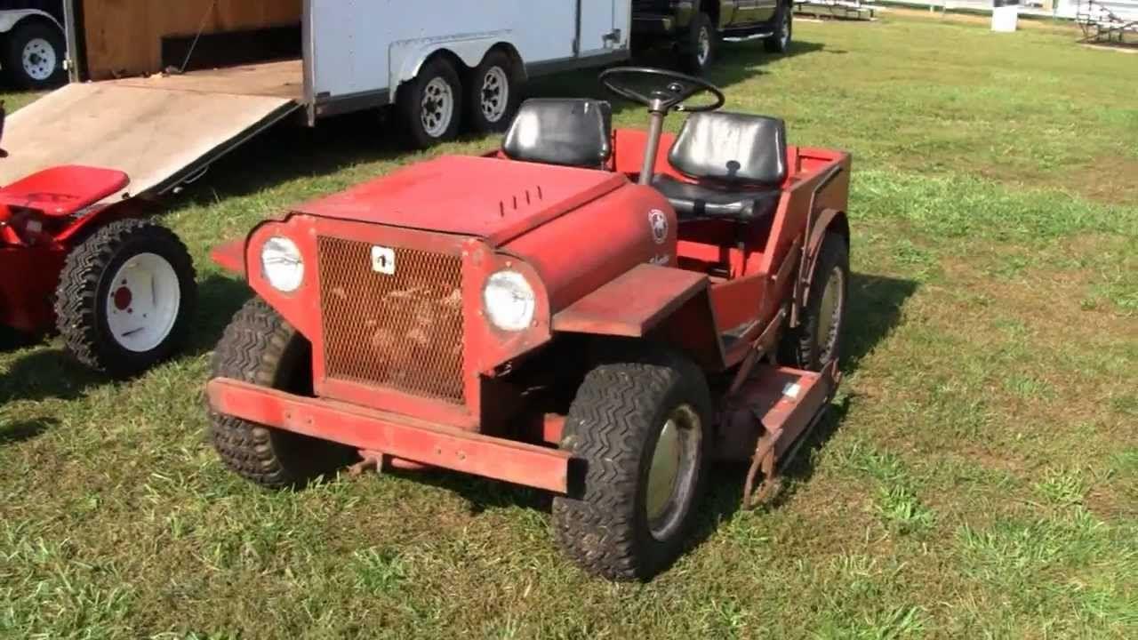 Rare Mini Jeep Roof Palomino Lawn Tractor Lawn Tractor Mini Jeep Lawn Tractors For Sale