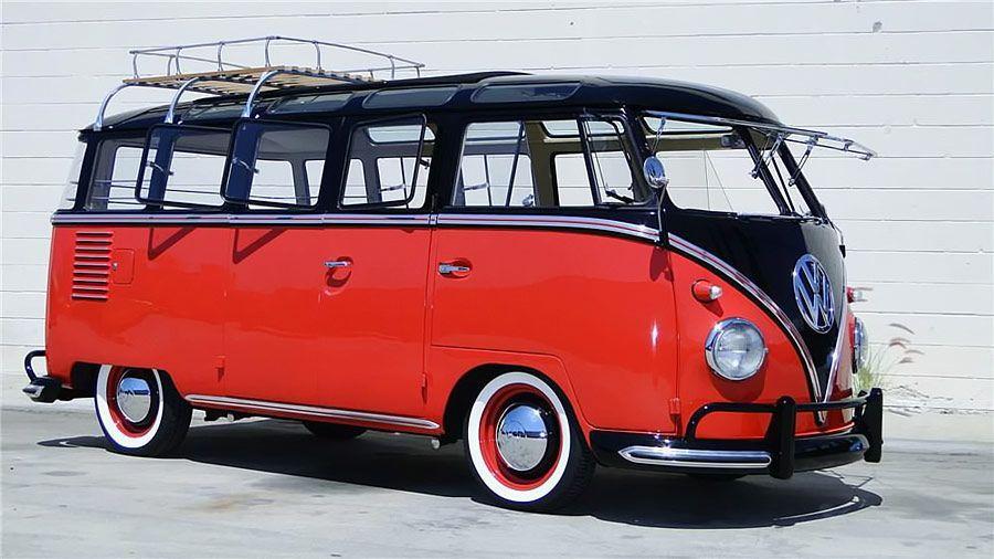 Volkswagen 23 Window Samba Bus Throttlextreme Com Volkswagonclassiccars Classic Volkswagen Vw Samba Bus Vw Classic