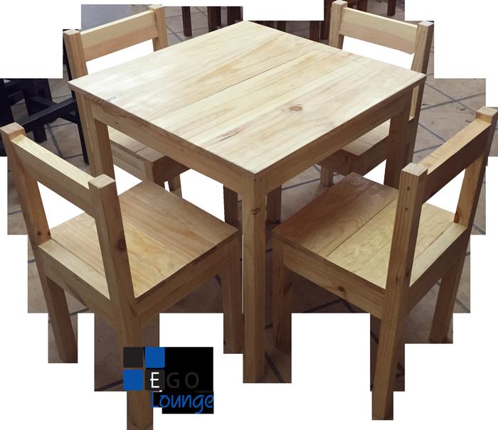 mesa crown terminado natural madera importacion chile en ...